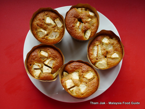 Apple and Gula Melaka Yogurt Muffin Recipe