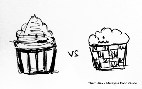 Cupcake vs Muffin