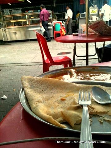 Tosai @ Malaysia's Indian roadside stall