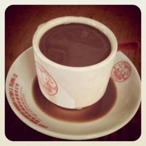 Malaysian Kopi (coffee)